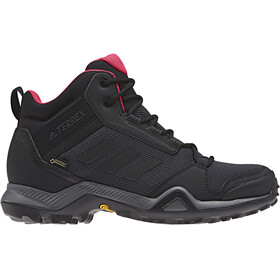 adidas TERREX AX3 Mid GTX Shoes Women carbon/core black/active pink